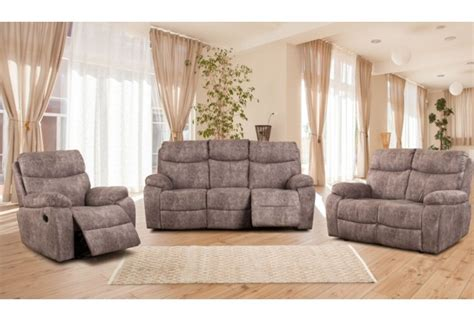 fabric recliner lounge suite new home furnishers 187 nevada 3 action recliner lounge