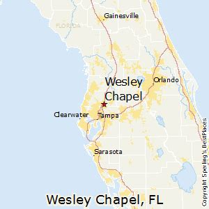 best places to live in wesley chapel florida