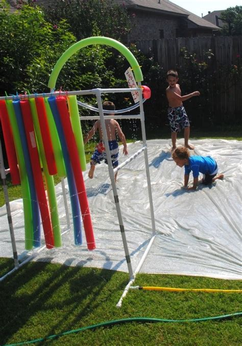fun diy backyard games  play  kids adults