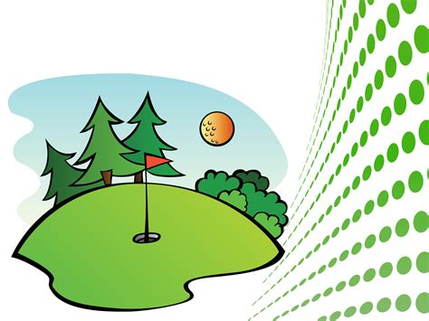 golf clipart free golf course clipart 45