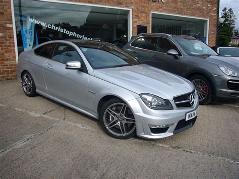Mercedes C63 For Sale by Mercedes C63 Amg Coupe For Sale Christopher Jackson Ltd