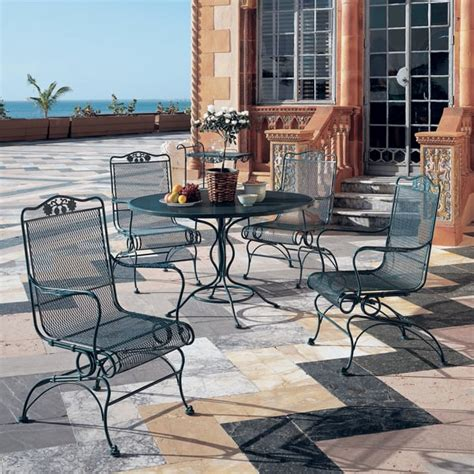 Iron Patio Furniture Clearance Furniture Cast Aluminum Wrought Iron Patio Furniture Clearance