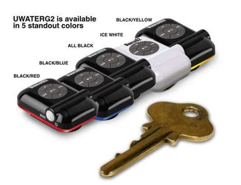 Ultimate Smallest Mp3 Player by Uwaterg2 Is The World S Smallest Waterproof Mp3 Player