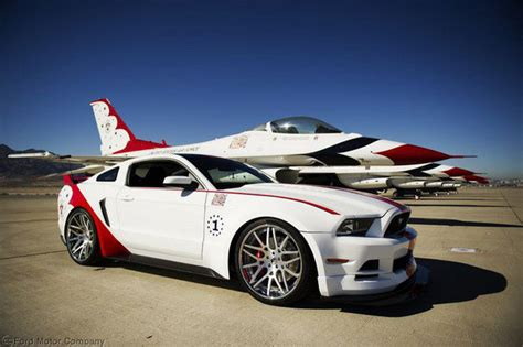 2014 ford mustang gt thunderbirds edition car review