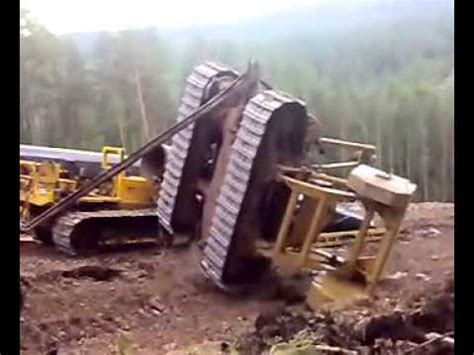 dozer accident accident of a pipeline bulldozer in russia youtube