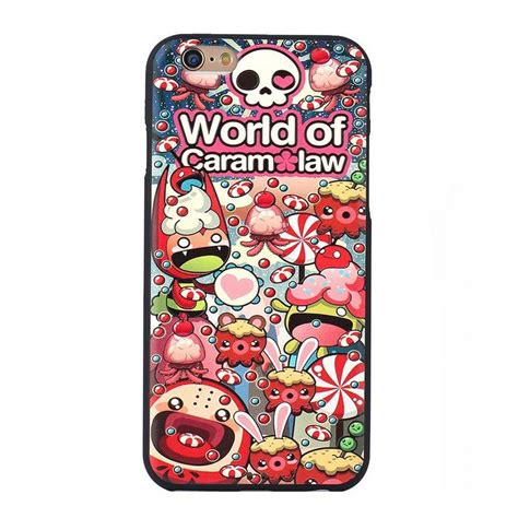 2 3 4 Soft Silicone Slim Rubber Protective Cover Skin world of caram pattern tpu rubber silicone protective