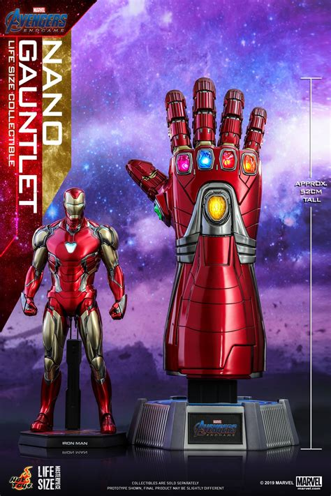 avengers endgame life size nano gauntlet collectible