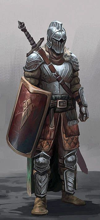 Helm Fighter Steunk Black Fightermetallic Grey m paladin plate helm sheild sword armor paladin and characters