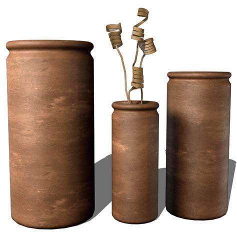 Sketchup Vase by Ceramic Vases Collection 3d Model Formfonts 3d Models