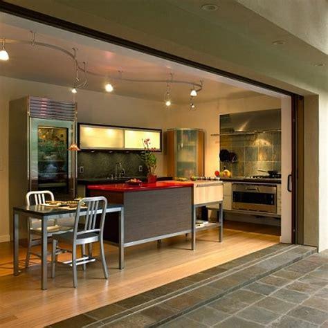 desain rumah dapur terbuka desain dapur terbuka di belakang rumah