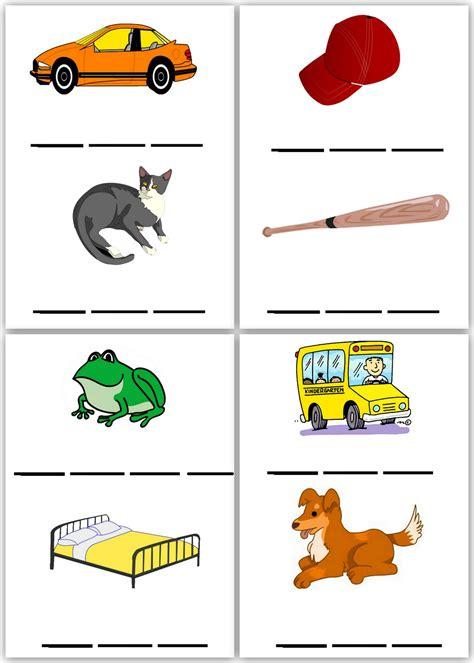 Pre K Spelling Worksheets lawteedah spelling worksheets set 1