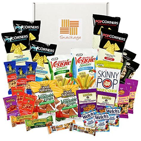 Healthy Package healthy snacks care package by snackage 31 count eat kid friendly