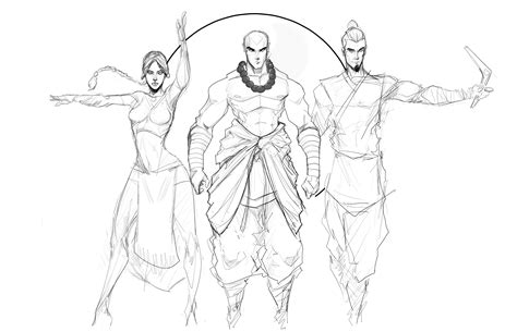 How To Draw Team Avatar og team avatar wip by sketchydeez on deviantart