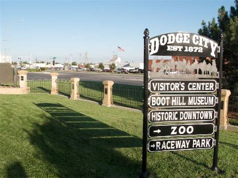 dodge city kansas attractions local attraction sign picture of dodge city kansas