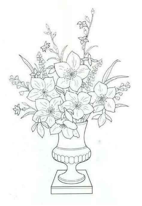 narcissus flower coloring page 17 best images about flowers drawing of daffodil on