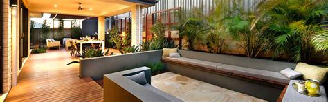 Patio Designs Perth Wa Modern Front Garden Designs Australia On Gardens Small And