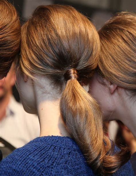 ponytail hairstyles 2013 14 low ponytail hair trend pictures hairstyle trends fall winter 2013 2014 braids
