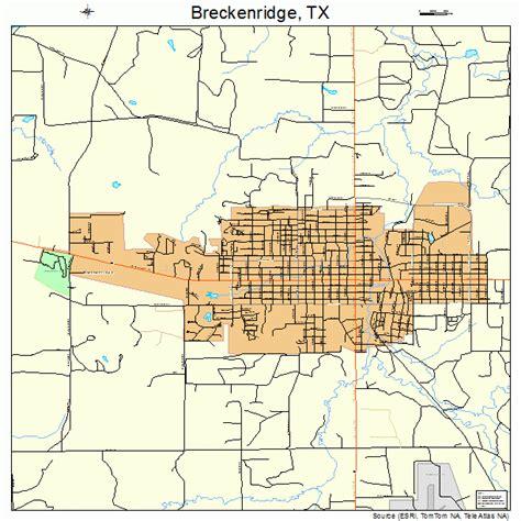 breckenridge texas map breckenridge texas map 4810132