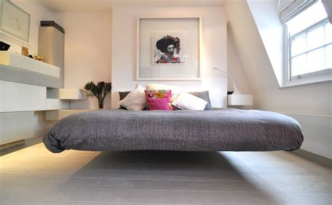 Frame For Bed On The Floor Floating Beds Elevate Your Bedroom Design To The Next Level
