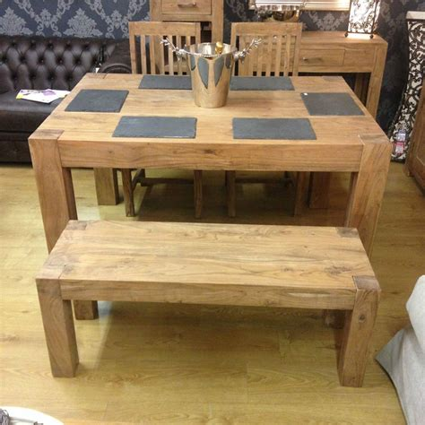 Solid Acacia Wood Dining Table Solid Acacia Wood Rustic Dining Table