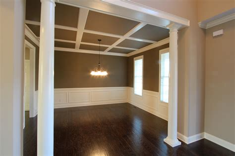 coffered ceiling paint ideas the hagen floor plan in the riverwood golf club community