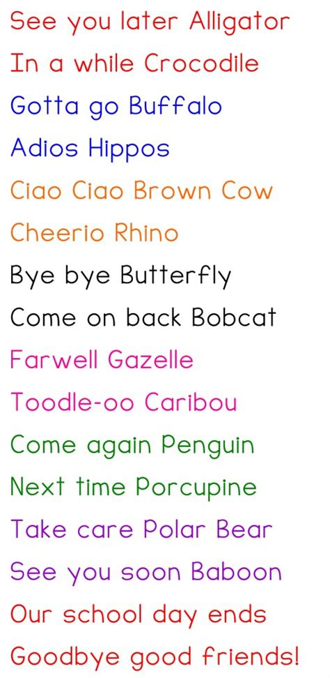 kid how i learned to say goodbye books our goodbye poem preschool ideas to say
