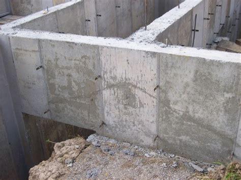 how to pour a basement foundation poured concrete foundation defect ask the builder