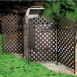 panel metal privacy screens betterimprovement