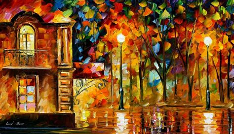 popular artwork where you loving me palette knife oil painting on canvas