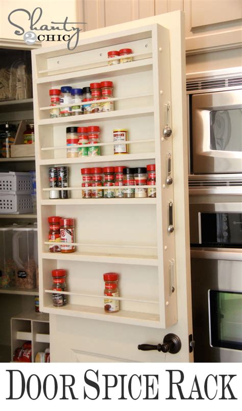 diy the door spice rack easy diy pantry door spice rack culture scribe