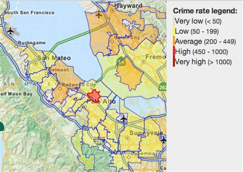 san jose crime map 2014 san jose crime map my