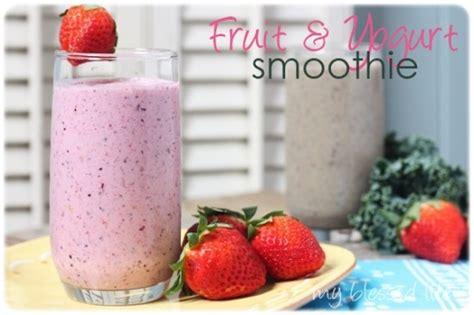 fruit yogurt smoothie smoothie recipe up nurture