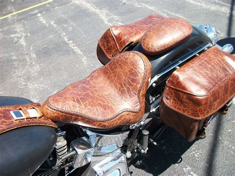 custom upholstery motorcycle seats midwest auto tops upholstery custom leather seat