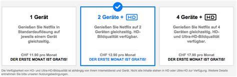 Brief Schweiz Deutschland Kosten netflix in der schweiz ab sofort verf 252 gbar