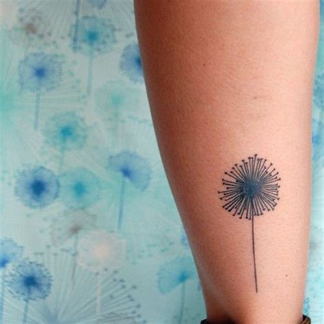 small dandelion tattoos 40 original dandelion designs