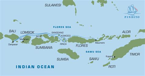 Maps & Dive Sites Family diving cruise