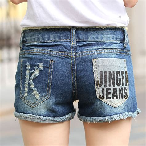 Denim Ripped Shorts 27 28 12363 2017 new hollow out ripped s shorts summer