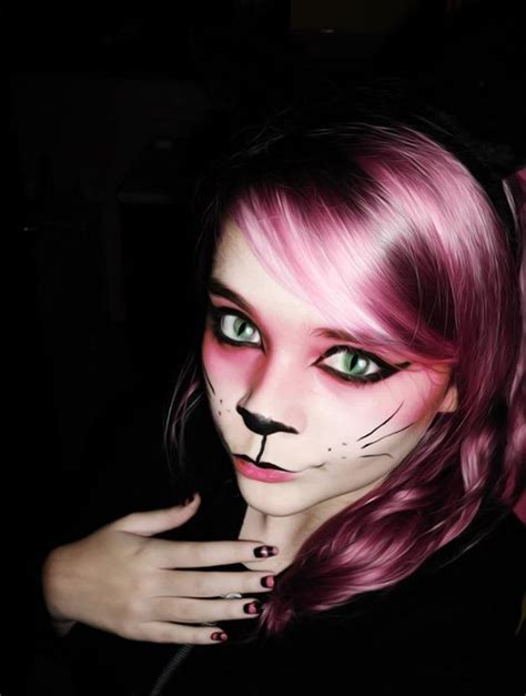cat makeup cheshire cat in zombieland
