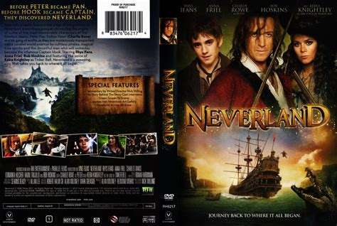 Cover Dvd Neverland Dvd Scanned Covers Neverland Dvd Covers