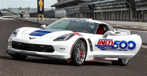 corvette grand sport earns pace car duties   indy