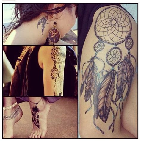 dreamcatcher tattoo thigh tumblr the gallery for gt dreamcatcher tattoo tumblr thigh