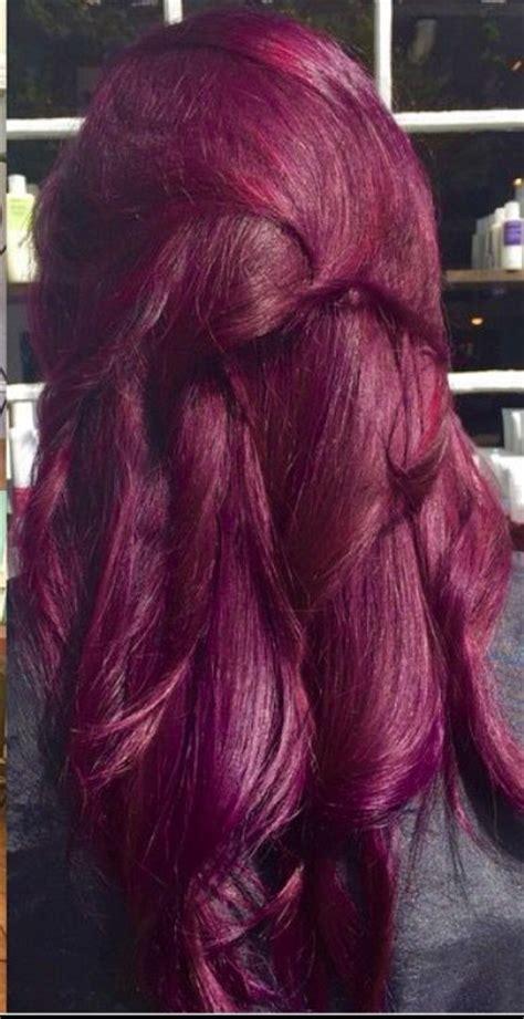 raspberry hair color best 25 raspberry hair color ideas on