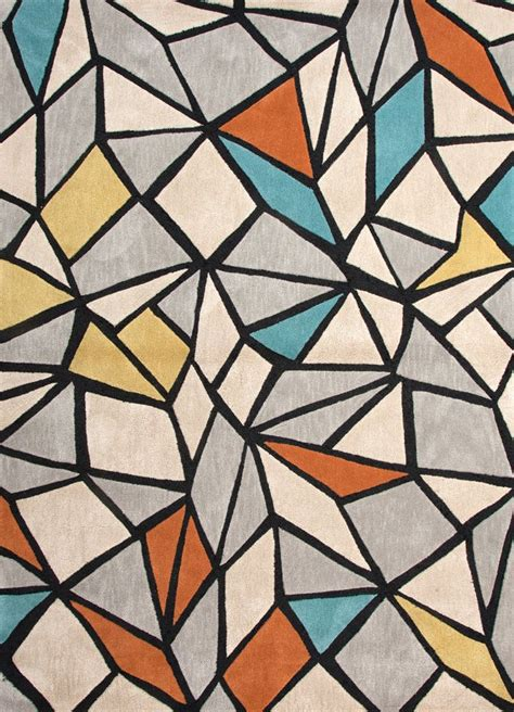 Modern Design Rugs Best 25 Geometric Rug Ideas On Woven Rug Plastic Carpet Runner And Midcentury Wall