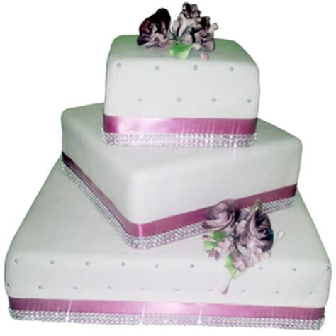 Square Wedding Cake Designs by 25 Best Ideas About Square Wedding Cakes On