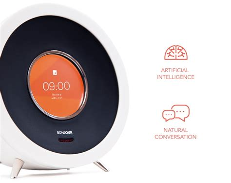 say bonjour to the smartest alarm clock it s a gadget technology news gadgets and
