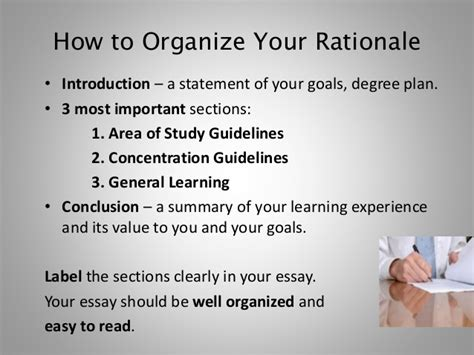 How To Raise A Letter In Powerpoint Planning And Writing Your Rationale Essay Fall 2013