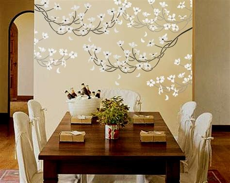 painting stencils for wall art stencil for walls flowering dogwood branch large reusable