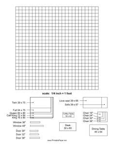 printable graph paper for interior design decorology free printable room planner from the nest