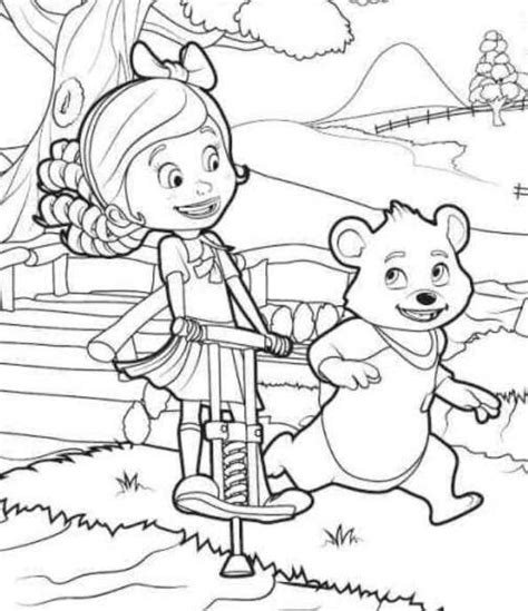 goldie bear coloring pages goldie and bear coloring pages disney coloring pages