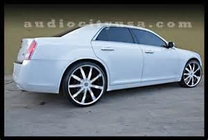 2012 Chrysler 300 On 24s 24 Vc 29 Chrome With Custom White On 2012 Chrysler 300